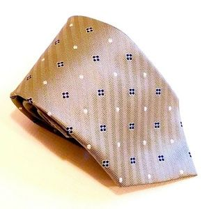 New Jos. A. Bank Extra Long Geometric Tie